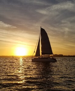 sailing in san diego, sunset cruise san diego