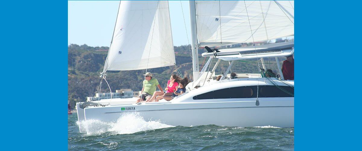 Catamaran Sailing Tours in San Diego