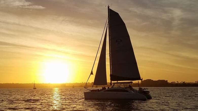 Sunset Sails in San Diego